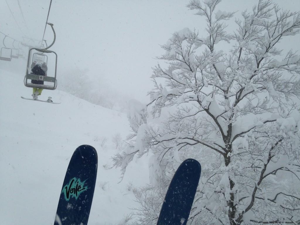 スキー場オープンしましたよー