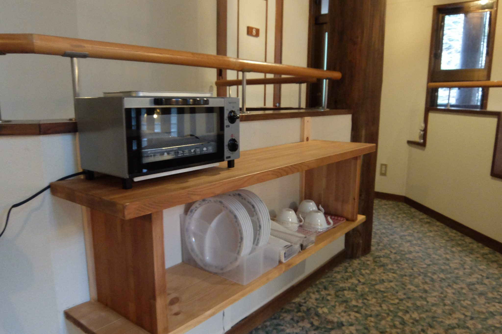 小さな小さなカフェのようなラウンジ2階