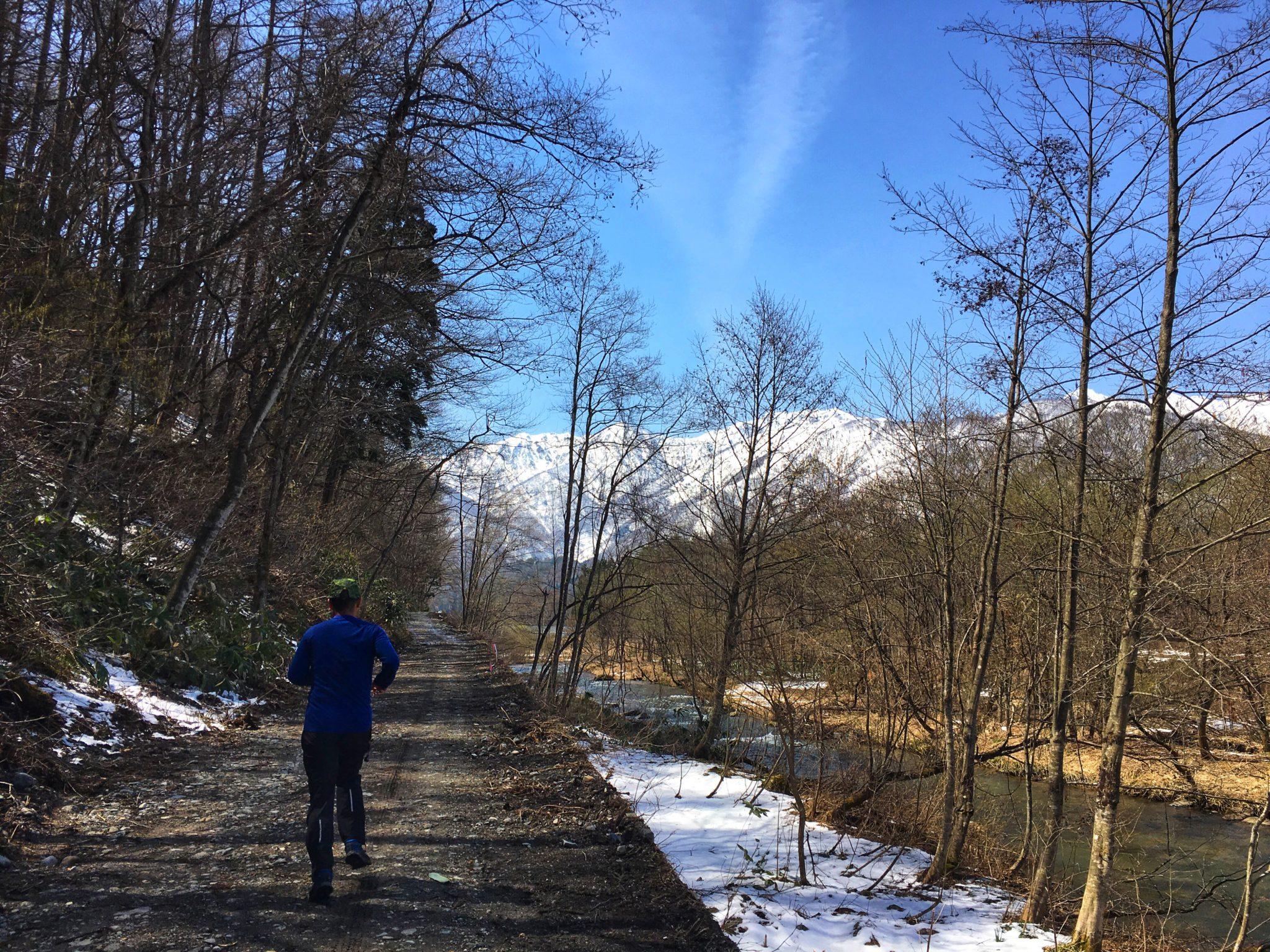 里山の小道は、除雪完了^^