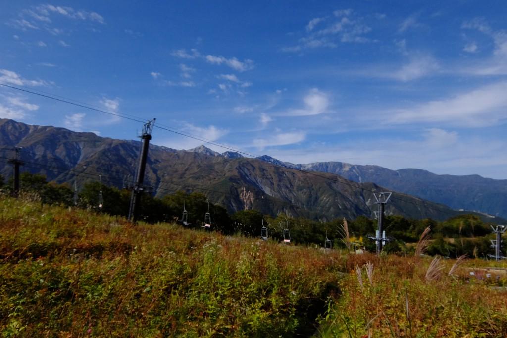 ゴンドラ山頂