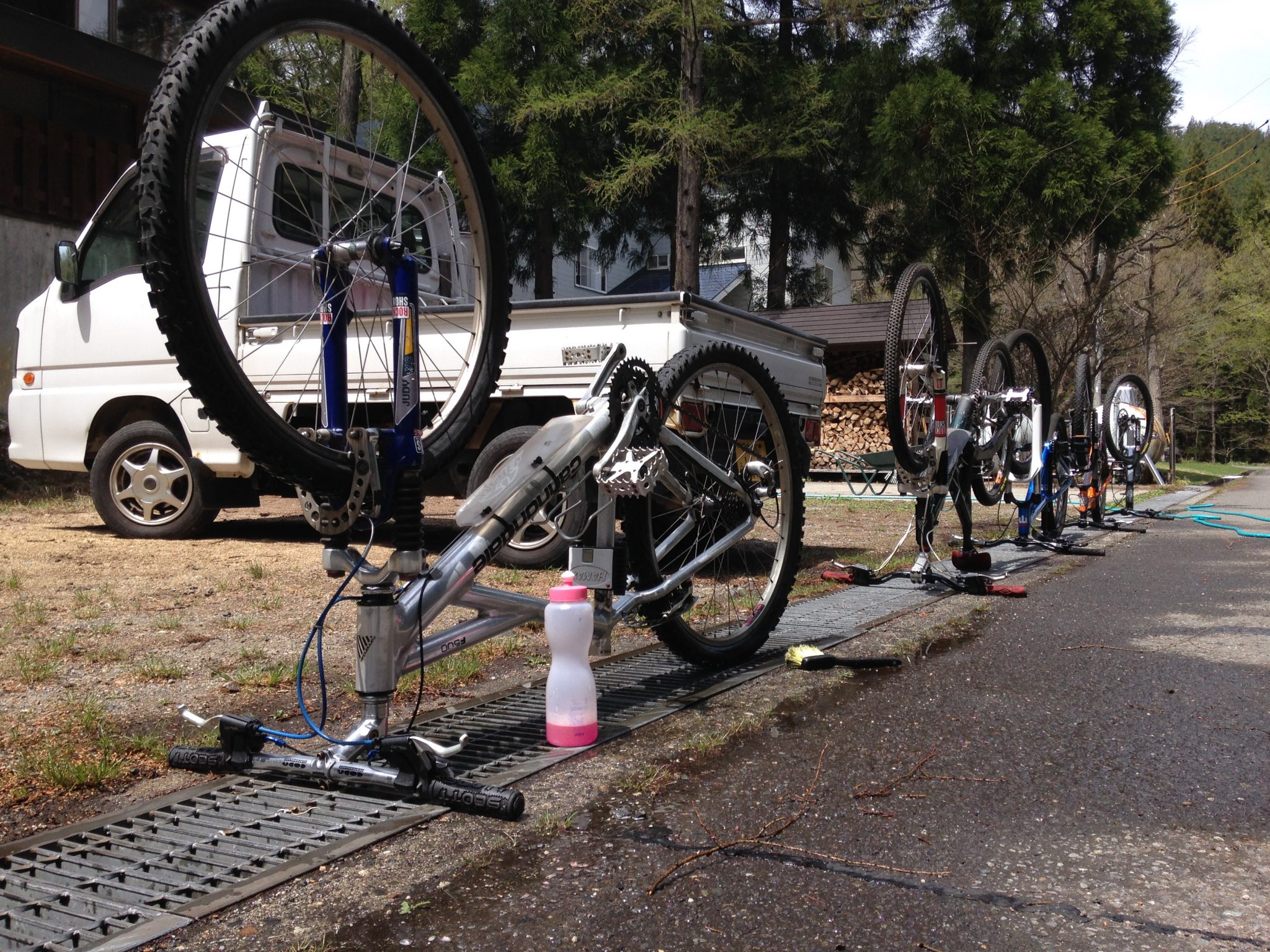 今日は、自転車屋さん!