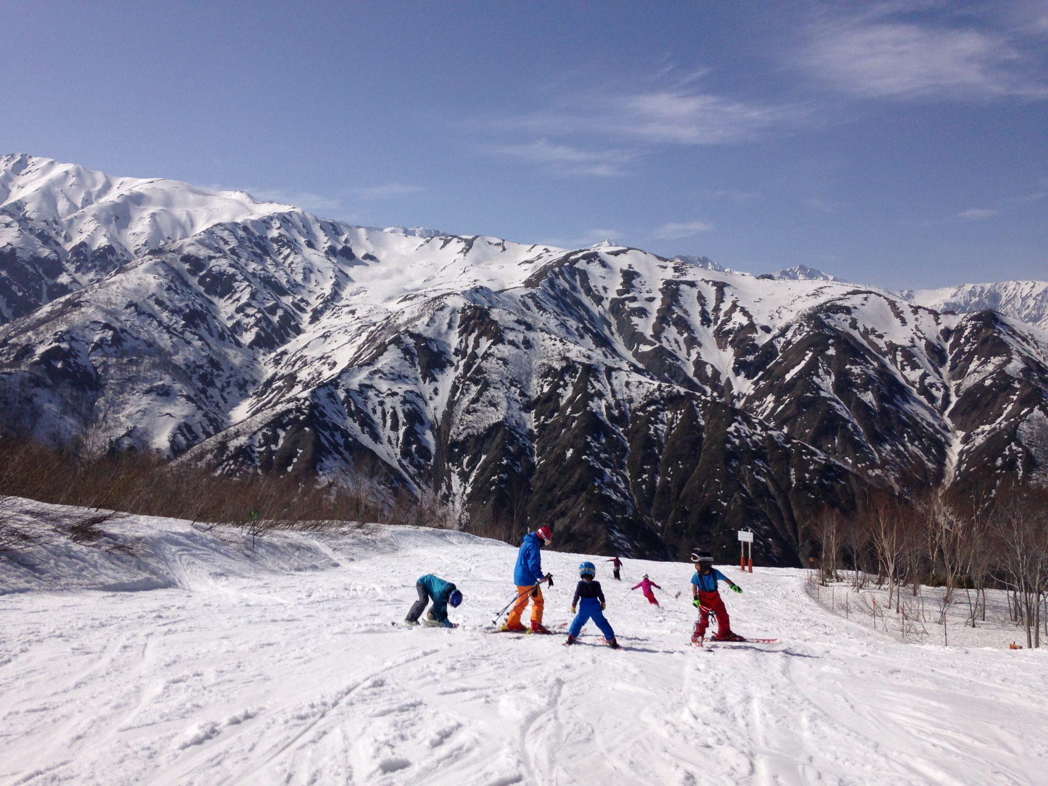 今日は、家族で五竜、47スキー場!