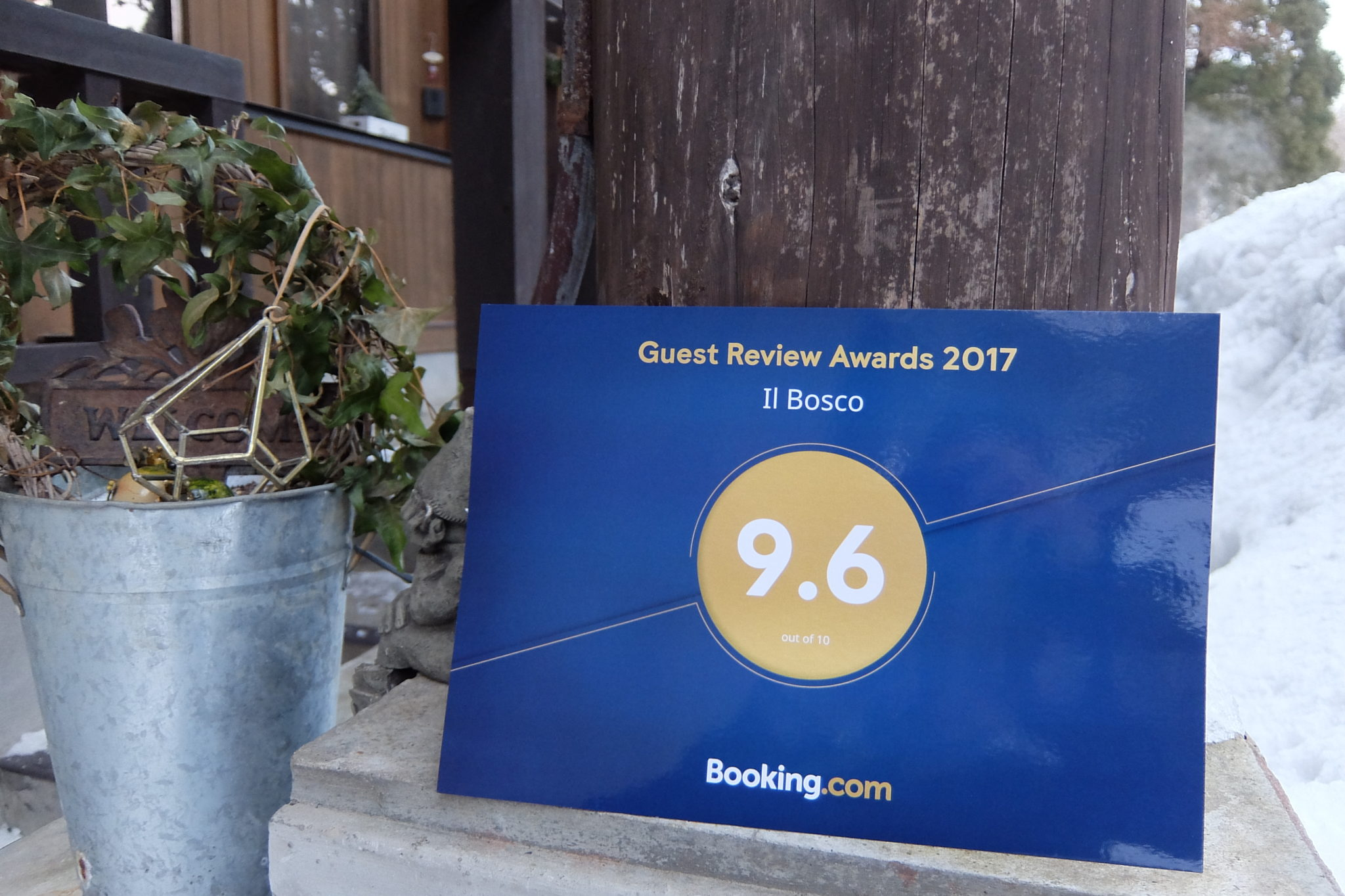 The Guest Review Award From Booking.com